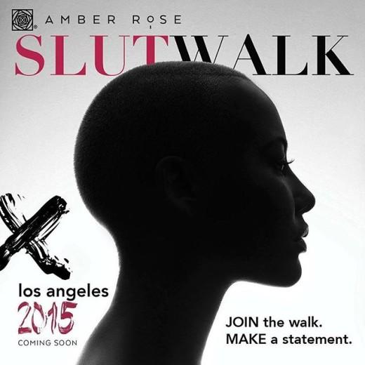 Amber rose slut walk