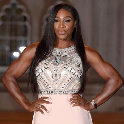 Serena williams pink dress 1