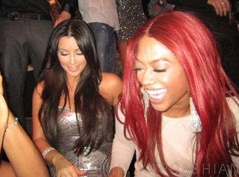 Trina-and-Kim-Kardashian