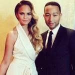Chrissy Teigen Presents a Very Bare John Legend on Instagram