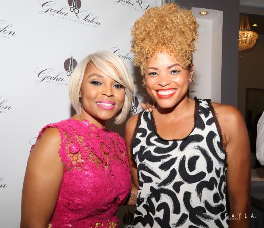 Gocha Hawkins and CocoaFab's Rita Davis