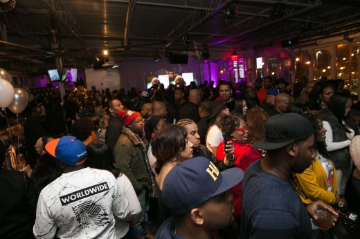Crowd at 1.1.16 THE RAP GAME Viewing Party065 SUITE_ATL_GA   135thST_C.Mitchell  2015CAM19524