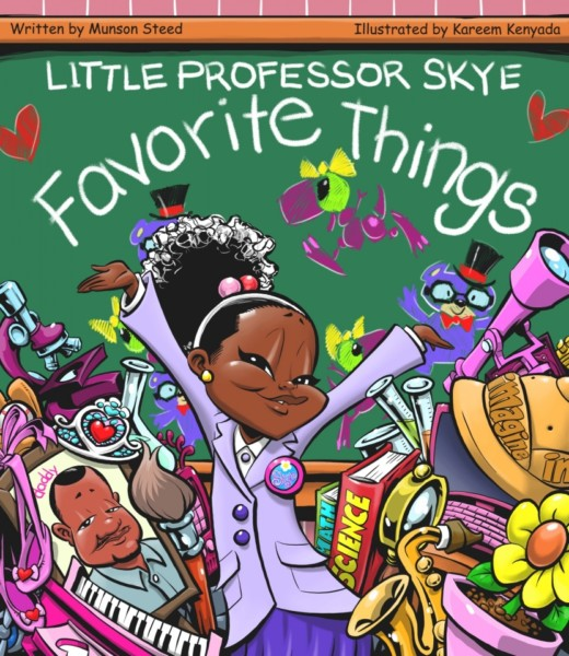 Little Professor Skye's Book Cover - Photo Provided Courtesy of Munson Steed