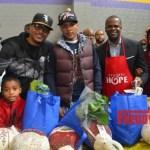 PHOTOS: TIP and Atlanta's Mayor Kasim Reed Bless Needy Families with Turkey Dinners!