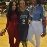 "[Photos] Dutchess Lattimore Participates In The Celebrity Charity Basketball Game In Charlotte Over CIAA Weekend, Also JUJU Promotes Her New Book ""Secrets Of A Jewel"""