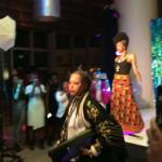 Yvonne Orji Surprised By Erykah Badu During Lip Sync Karaoke