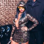 [Photos] SuperStar Ashanti Enjoys a Night at Ace of Diamonds LA