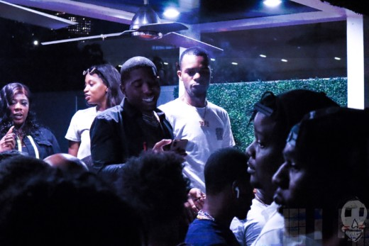 YFN LUCCI throws a listening party for a song with Trey