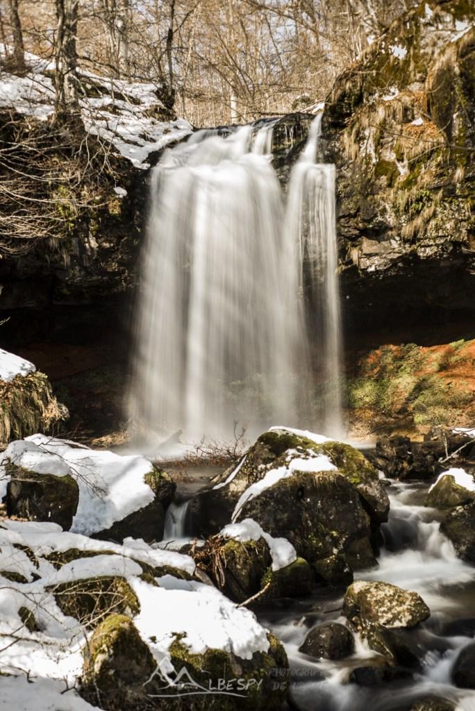 Rideau d'hiver (Cascade de Captat) n°0213