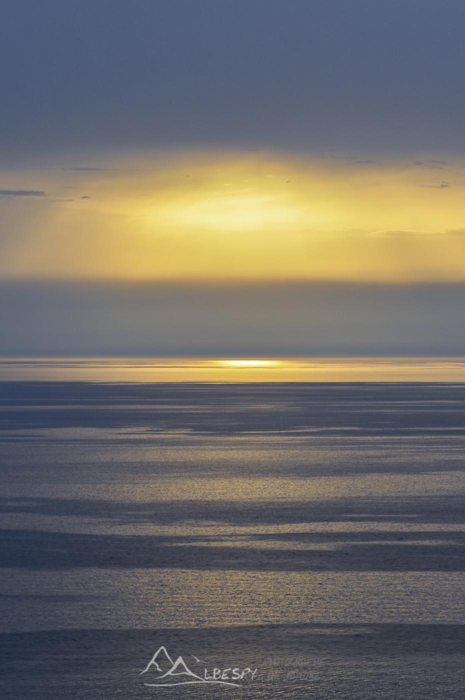 Coucher de soleil sur la Méditerranée (Corse) n°0417