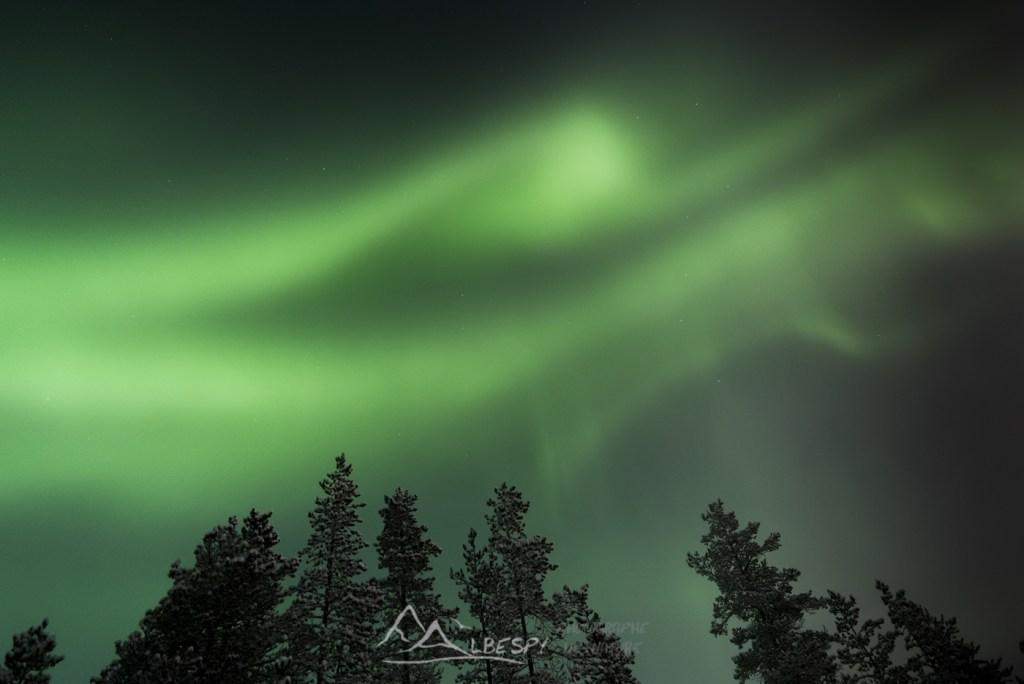 Ciel vert (Hetta - Finlande) n°0905