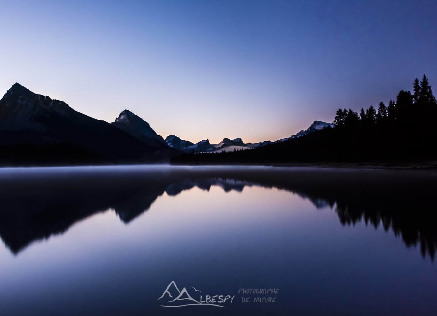 Maligne Lake (Parc National de Jasper - Alberta) n°0611