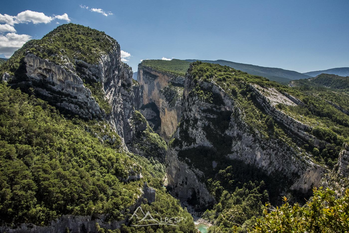 Gorges du Verdon (Alpes de Haute Provence) n°0413