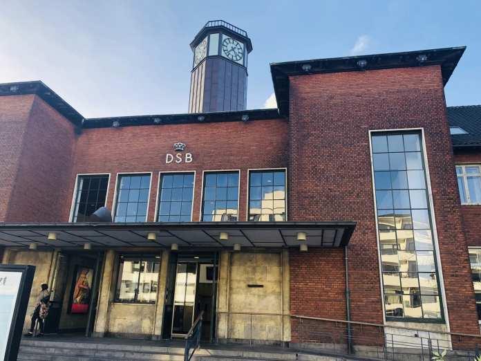 DSB Fredericia Banegård, TOG. Foto: Andreas Dyhrberg Andreassen, Fredericia AVISEN.