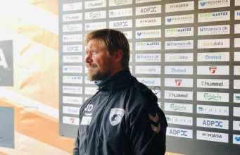 Jonas Dal, Cheftræner FC Fredericia. Foto: Andreas Dyhrberg Andreassen, Fredericia AVISEN.