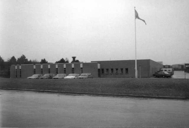 Cohrs nye fabrik Nørrebrogade 1987 (Foto: Lokalhistorisk Arkiv)