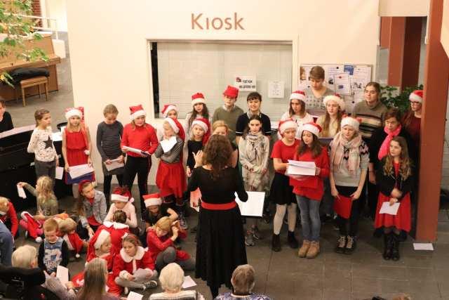 Den Kreative Skole på Hybyhus Plejecenter. Foto: Andreas Dyhrberg Andreassen, Fredericia AVISEN.