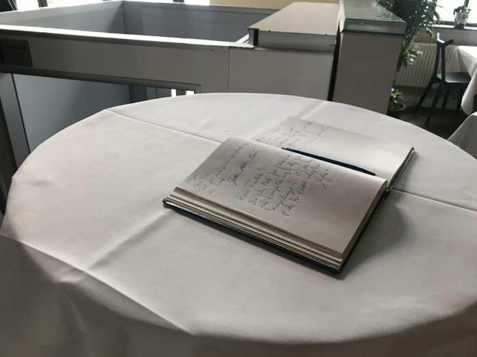 Bog til reception