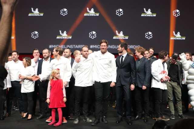 Michelinuddeling 2019. Foto: Thomas Lægaard, Fredericia AVISEN.
