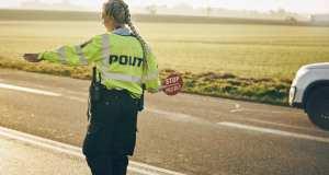 politi, kontrol, bøde