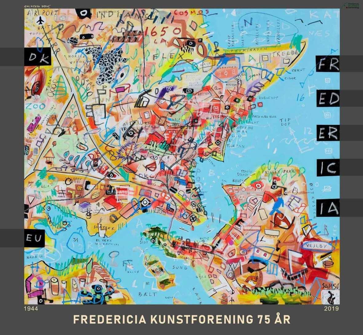 Jacob Herskind sætter kulør på  Fredericia Kunstforenings 75 års jubilæum