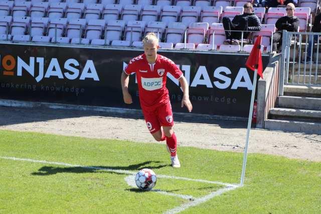 FC Fredericia - Thisted FC. 12. maj 2019. Foto: Andreas Dyhrberg Andreassen, Fredericia AVISEN.
