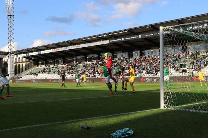 Viborg F.F - FC Fredericia. 21. august 2019. Foto: Thomas Lægaard, Fredericia AVISEN.
