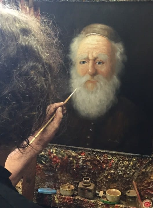 Hollandsk maler og danske studerende udstiller i Fredericia
