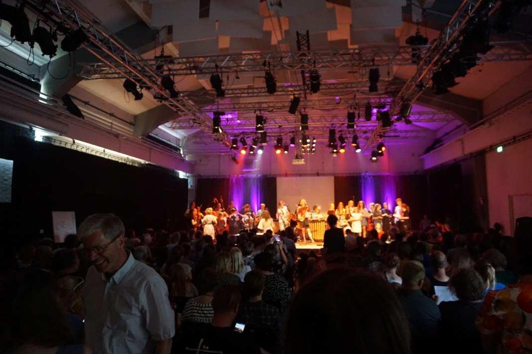 Den Kreative Skoles sommerfestival. Foto: Andreas Dyhrberg Andreassen, Fredericia AVISEN.