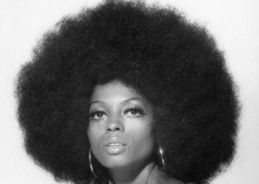 Diano Ross, la reine du disco, en 1968. DR