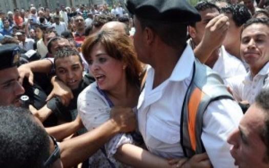 Scène de harcèlement place Tahrir en 2013. Mohamed Omar. Epa