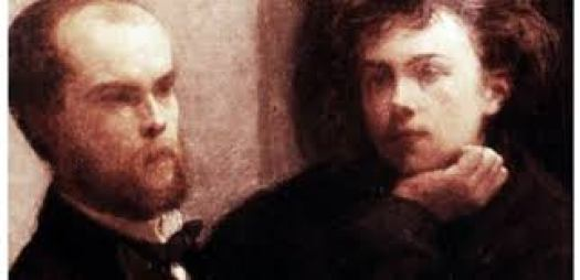 Paul Verlaine et Arthur Rimbaud, amants secrets.