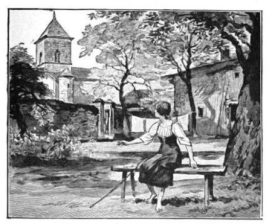 Jeanne d'Arc entend ses voix à Domremy. Ernest Lavisse (Armand Colin)