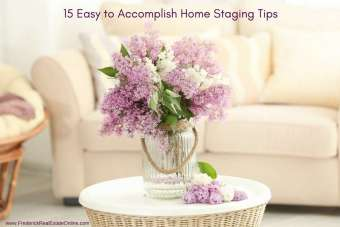 Top 15 Staging Rules For Home Sellers