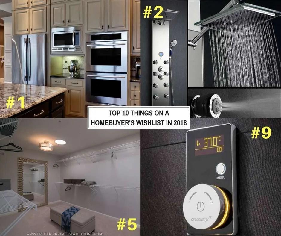 Home Buyers Top 10 Wish List