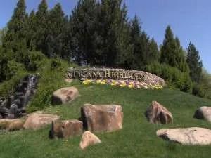Urbana Highlands Neighborhood