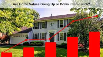 Are Home Values Going Up or Down In Frederick Md?