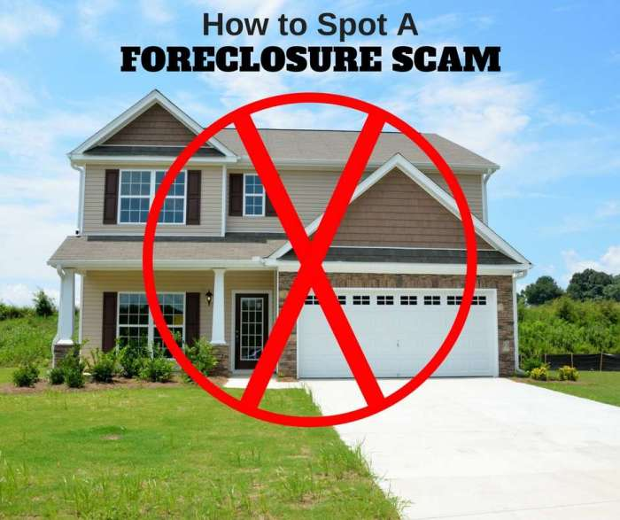 "How To Recognize and Avoid A Foreclosure ""Rescue"" Scam"