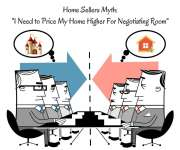 "Seller's Myth ""I Need to Price My Home Higher for Negotiating Room"""