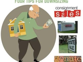 downsizing four tips