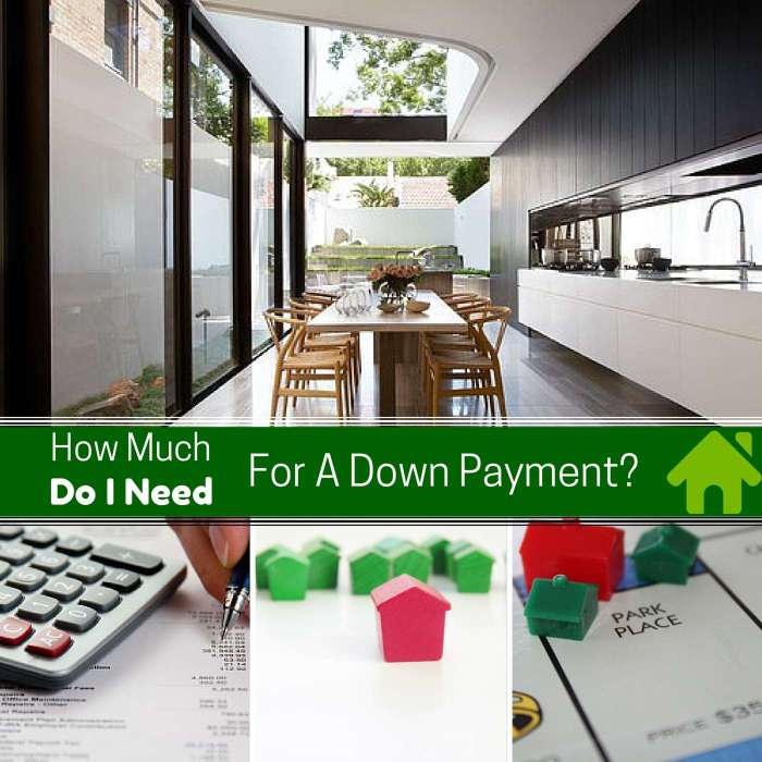 How Much Will I Need for A Down-Payment on A House?