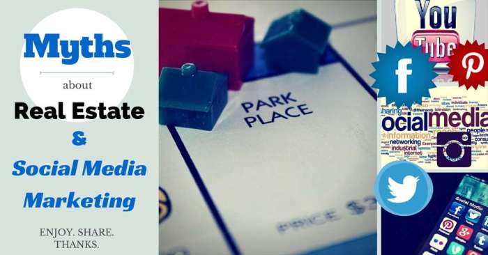 Myths About Real Estate and Social Media Marketing