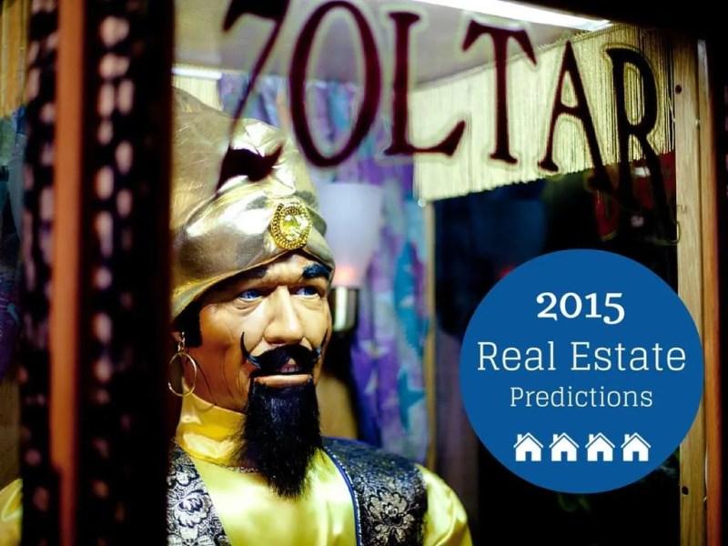 2015 real estate predictions