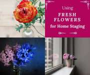 Using Fresh Flowers to Stage Your Home