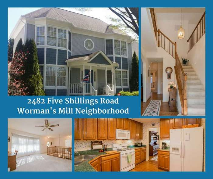Home Sold Five Shillings Rd Frederick MD 21701