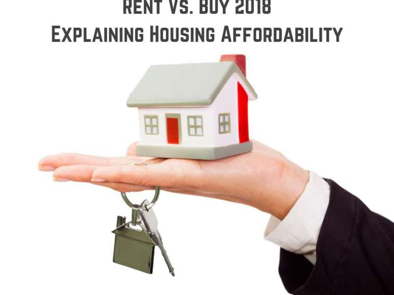 Rent Vs. Buy 2018 - Explaining Housing Affordability