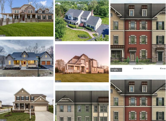 villages of urbana homes for sale