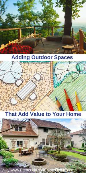 Add value with outdoor living rooms