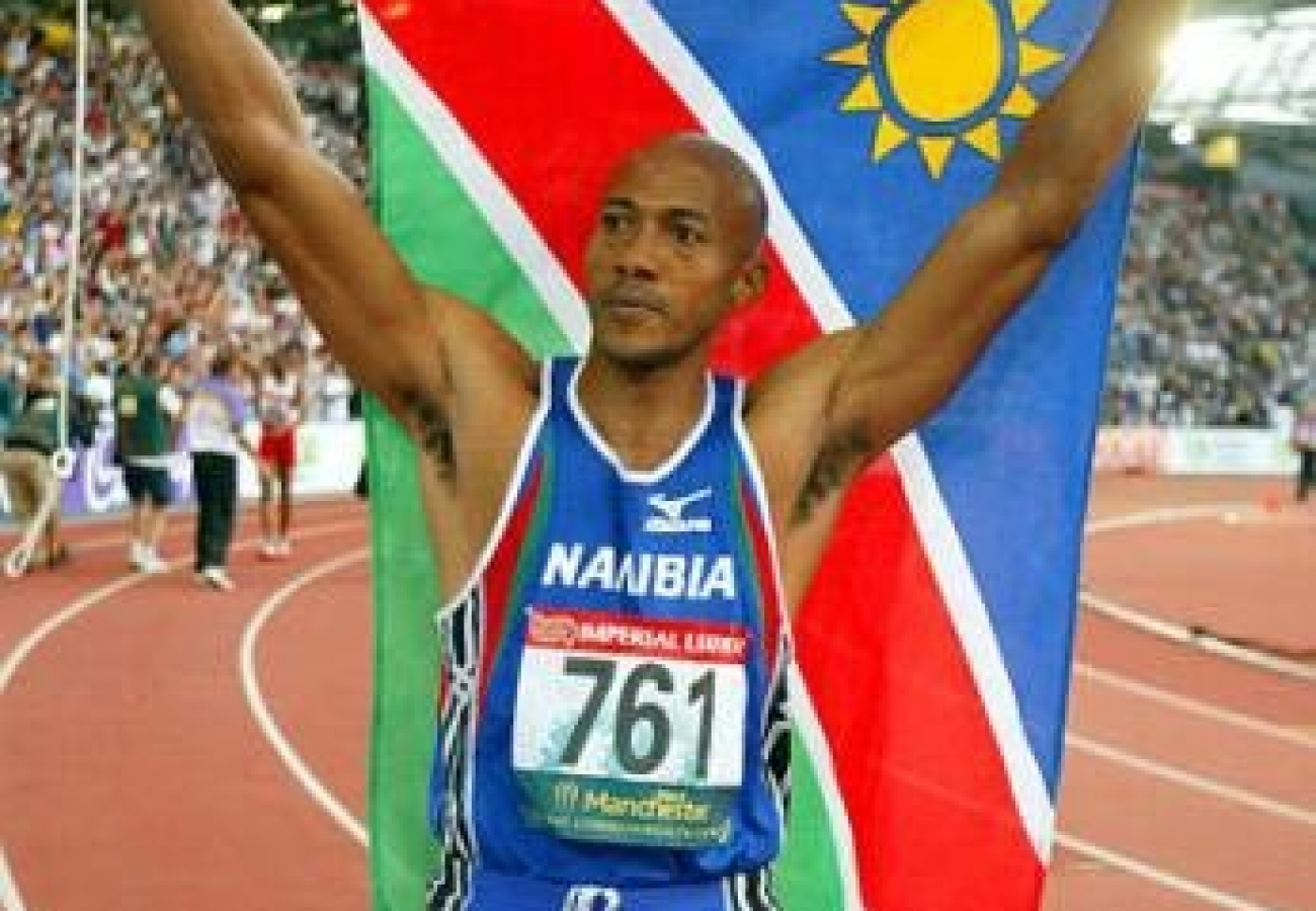 FF Winning 6_Frank with Namibian Flag