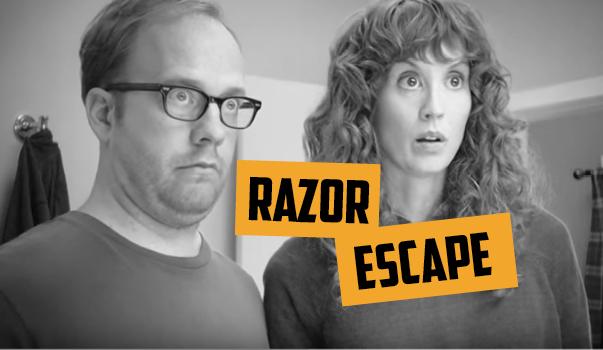 """18vs80 Blog Dollar Shave Club """"Razor Escape"""""""